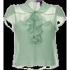 green blouse1 - Hemden - kurz -