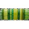 green bracelets - Bracelets -
