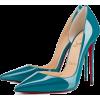 green classic shoes1 - Classic shoes & Pumps -