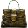 green croc bag - Torbice -