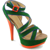 green heels - Platforms -