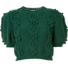 green pom pom sweater - Jerseys -