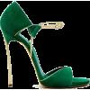 green sandals - Sandale -