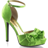 green shoes - Sandals -