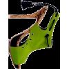 green slingbacks - Sandals -