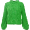 green sweater - Pullovers -