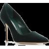 green velvet manolo blanik pump - Zapatos clásicos -