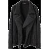 Grey Coat - Jacket - coats -