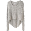 Grey Pullover - Pullovers -