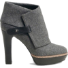 grey ankle boots - Stiefel -