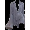 grey casual dress - Dresses -