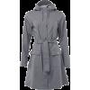 grey raincoat - Jakne in plašči -