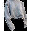 grey sweater - Long sleeves shirts -
