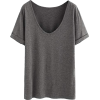 grey t shirt - Magliette -