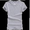 grey t shirt - T-shirts -
