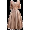 Haljina Dresses Beige - Dresses -
