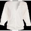 Haljina Cardigan White - Swetry na guziki -