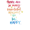 happy quote - Besedila -