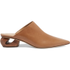 haya leather mules - Loafers -