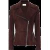 he Row Paylee suede jacket - Jacket - coats -