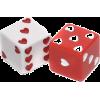 heart dice - Predmeti -
