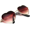 heart framed sunglasses - Sunglasses -