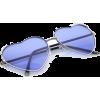 heart shaped sunglasses - 墨镜 -