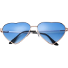heart shaped sunglasses - 墨镜 -