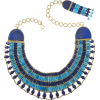 Lapis and Turquoise Collar - ネックレス -