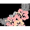 hibiscus flower clipart - Items -