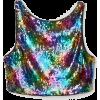 h&m - Ärmellose shirts -