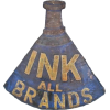 ink sellers vintage tin sign - Items -