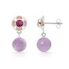 Pink Bling Drop Earrings - Orecchine - $269.99  ~ 231.89€