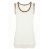 Metallic Longline Vest - Top - $46.00  ~ 39.51€