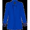 Jacket Jacket - coats Blue - アウター -