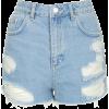 Jeans - Hlače - kratke -