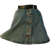 jean skirt - Skirts -