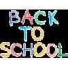Back to School - Testi -