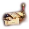 Candle&book - Items -