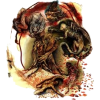 Danteov 7. krug Pakla - Illustrations -