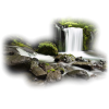 Nature River Waterfall - Nature -