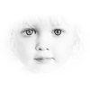 little girl face - Pessoas -