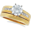 Gold Diamond ring - Rings -