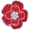 Jeweled Flower Ring - Rings -