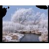 Winter river - Nature -