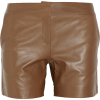 See By Chloé Leather Shorts - Shorts -