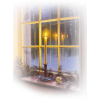 Window and Candle - Edificios -