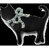 broš mačka - Jewelry -