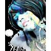 Girl aquarel - Illustrations -
