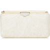 jimmy choo lace clutch - バッグ クラッチバッグ -